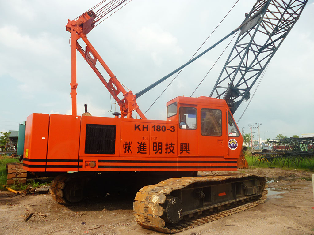 Crawer crane HITACHI KH180-3