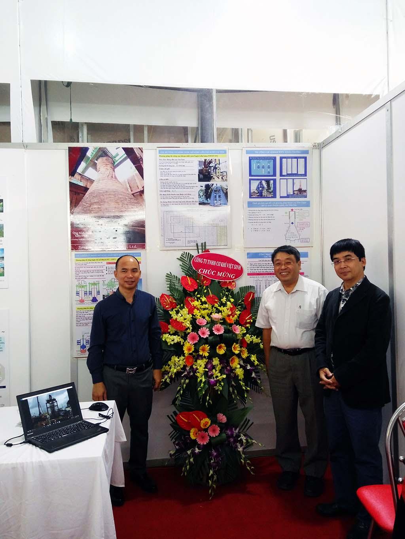 Tham gia triển lãm xây dựng Việt Nam tháng 11/2016